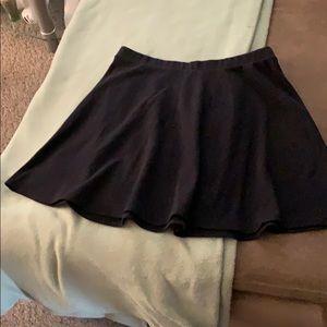 Black old navy mini skirt